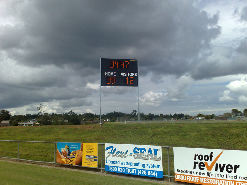 Outdoor Scoreboard 1