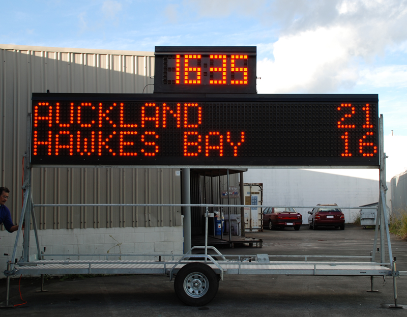 Outdoor Scoreboard 2
